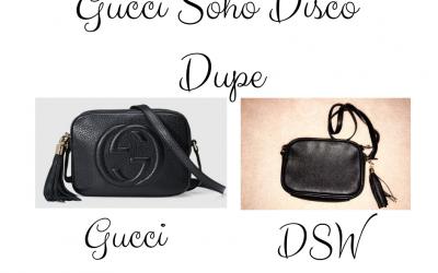 Gucci Soho Disco Dupe